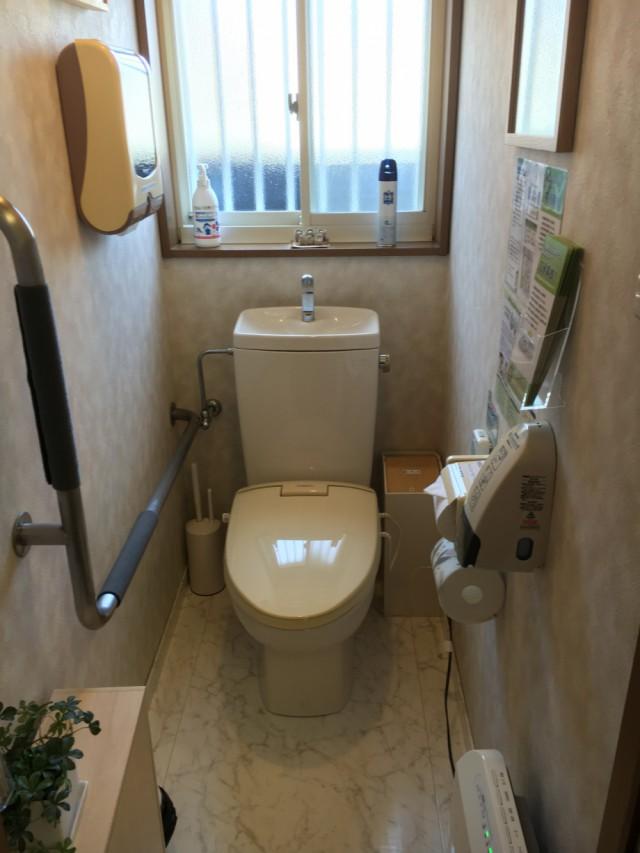 (冬場)トイレの中の暖房