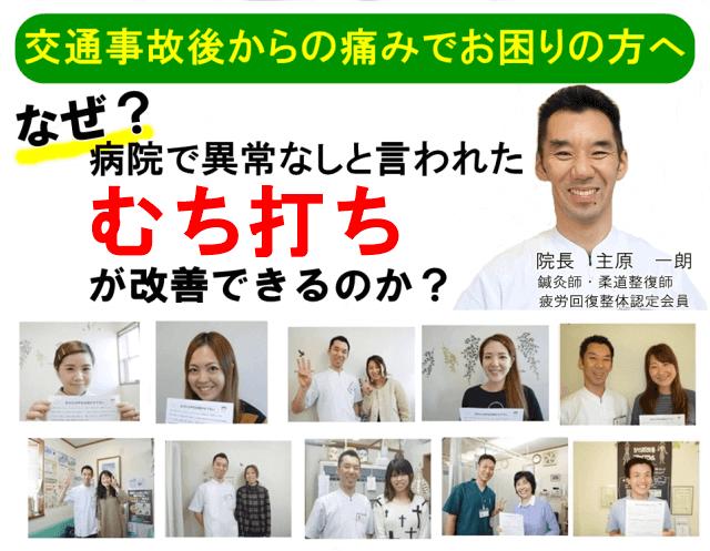 なぜ?病院では異常なしと言われたむち打ち症が当院の施術で改善するのか?